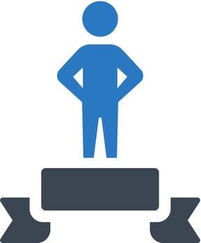 Winner podium icon