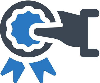 Award give icon