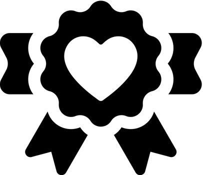 Love award icon