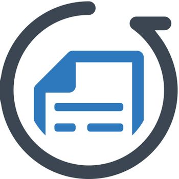 File Resubmit icon