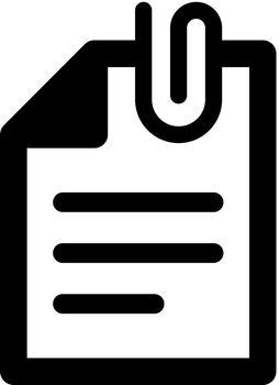 Attach document icon