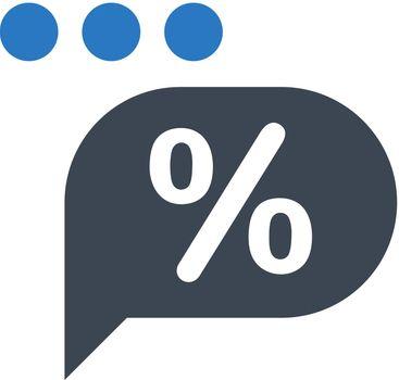 Marketing chat icon