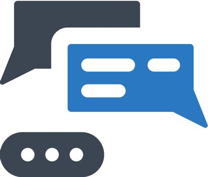 Social chat icon