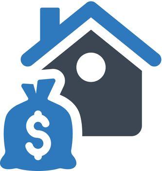 Home finance icon