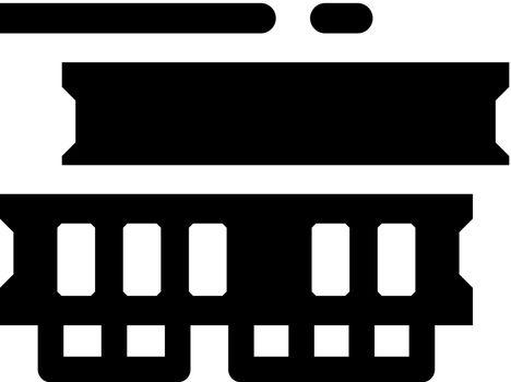 Random access memory icon