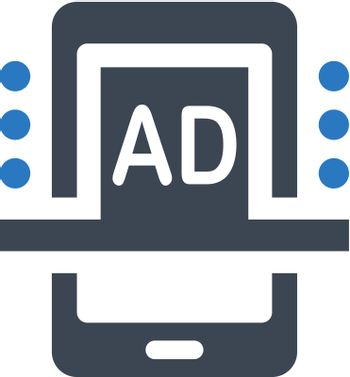 Popup ads icon