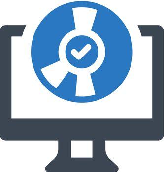 Safe installation icon