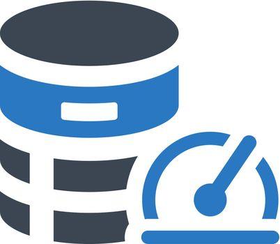 Database performance icon