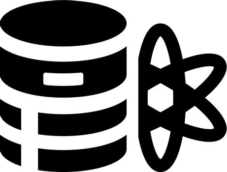 Database science icon