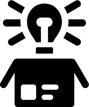 Idea out of box icon