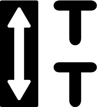 Text leading icon