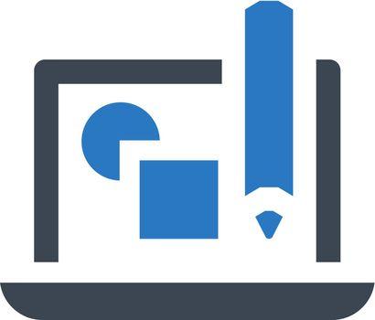 Graphical design icon