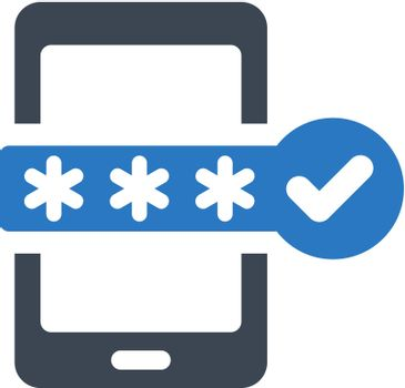 Mobile verification icon