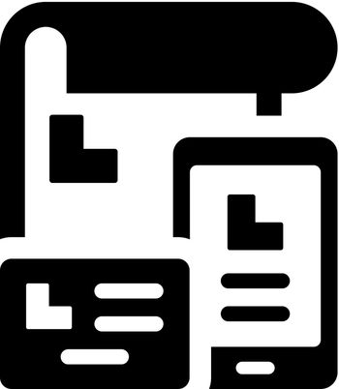 Branding identity icon