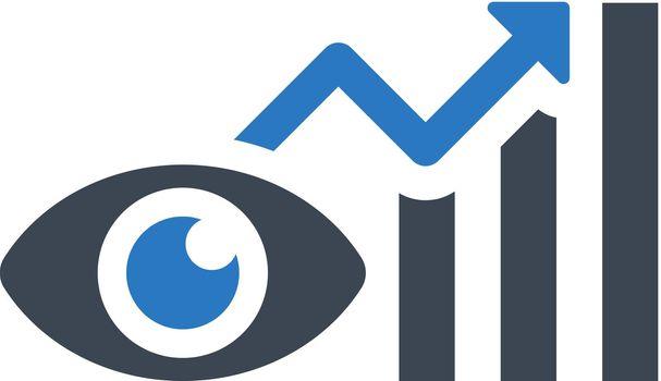 Market watch icon
