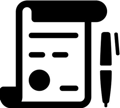 Business financial agreement icon000
