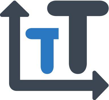 Font size icon