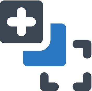Copy layers icon