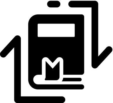 Literature exchange icon