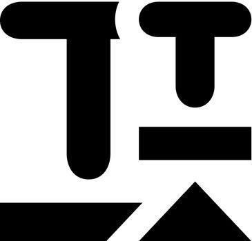 Font shift icon