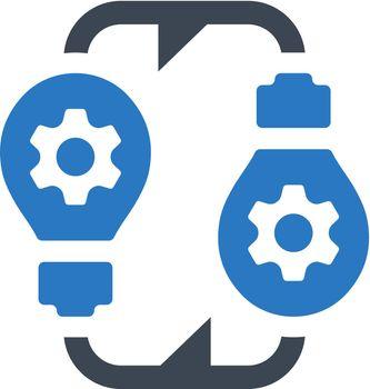 Sharing idea icon