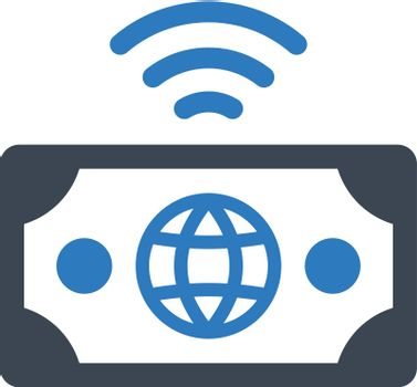 Internet payment icon