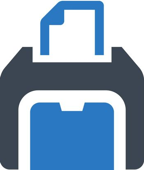 Printer equipment icon