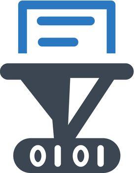 Hash function icon