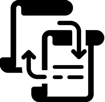 Documents sharing icon