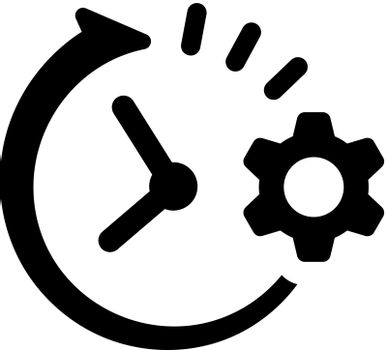 Time planning icon