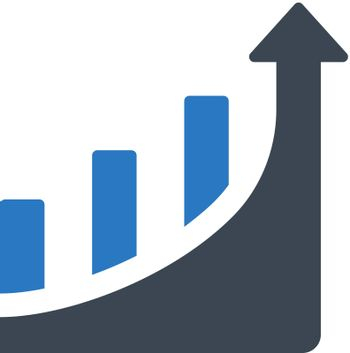 Graph up icon