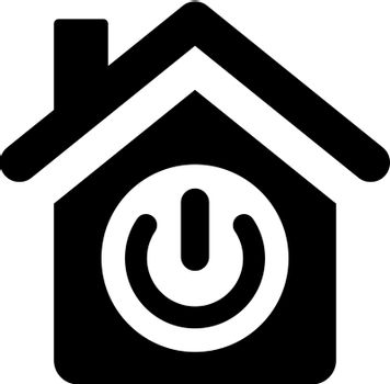 Home power off icon