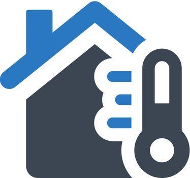 House temperature icon