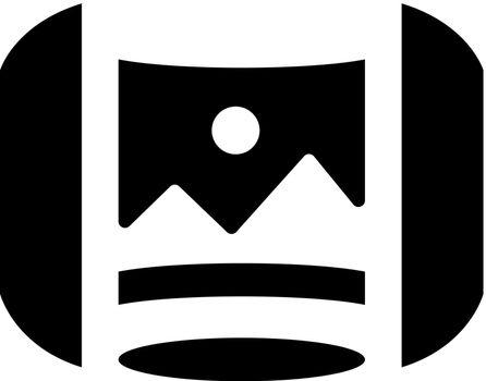 Virtual panorama icon