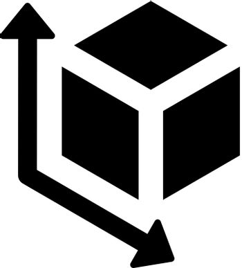 Vr cube object icon