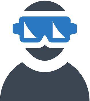 Virtual Reality icon set