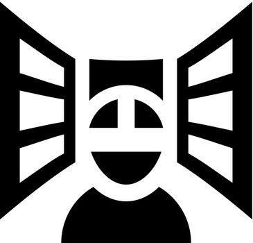 Virtual reality user icon