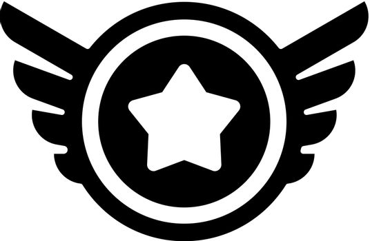 Wings badge icon