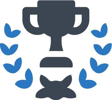 Trophy wreath icon