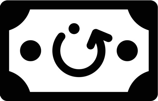 Charge back icon