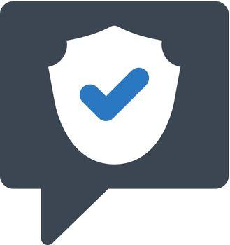 Message encryption icon