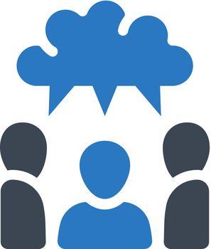 Brainstorm talk icon