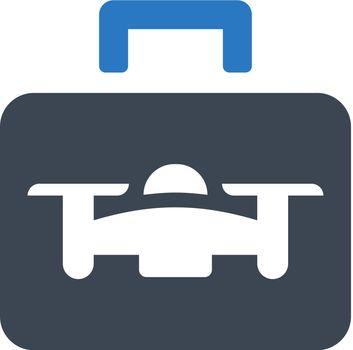 Drone case icon