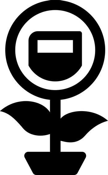 Knowledge growth icon