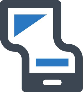 Flexible display icon