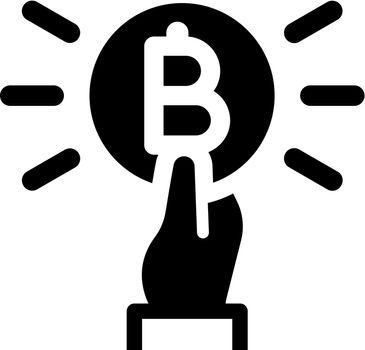 Pay bitcoin icon