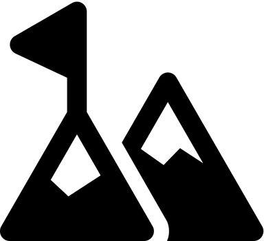 Mountain target icon