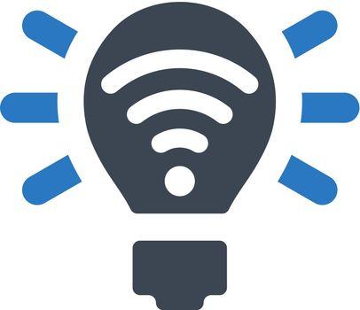 Light signal icon