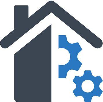 Smart home control icon