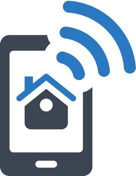 Smart home control app icon